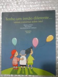 livro irmao diferente